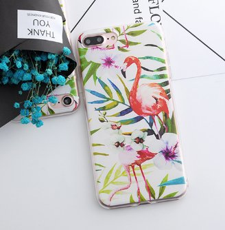 Flexicase for iPhone 6/6s (flamingo)