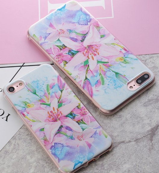 Flexicase for iPhone 6/6s (lillies)