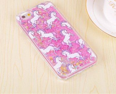 Unicorn glitter case (pink) (iphone 6/6s)