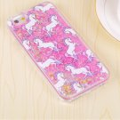 Unicorn glitter case (pink) (iphone 6/6s)