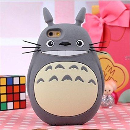 Totoro iphone 6 case (3D, silicon)