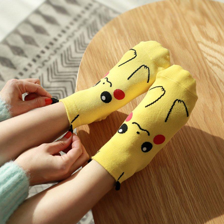 Pokemon Socks (Pikachu)