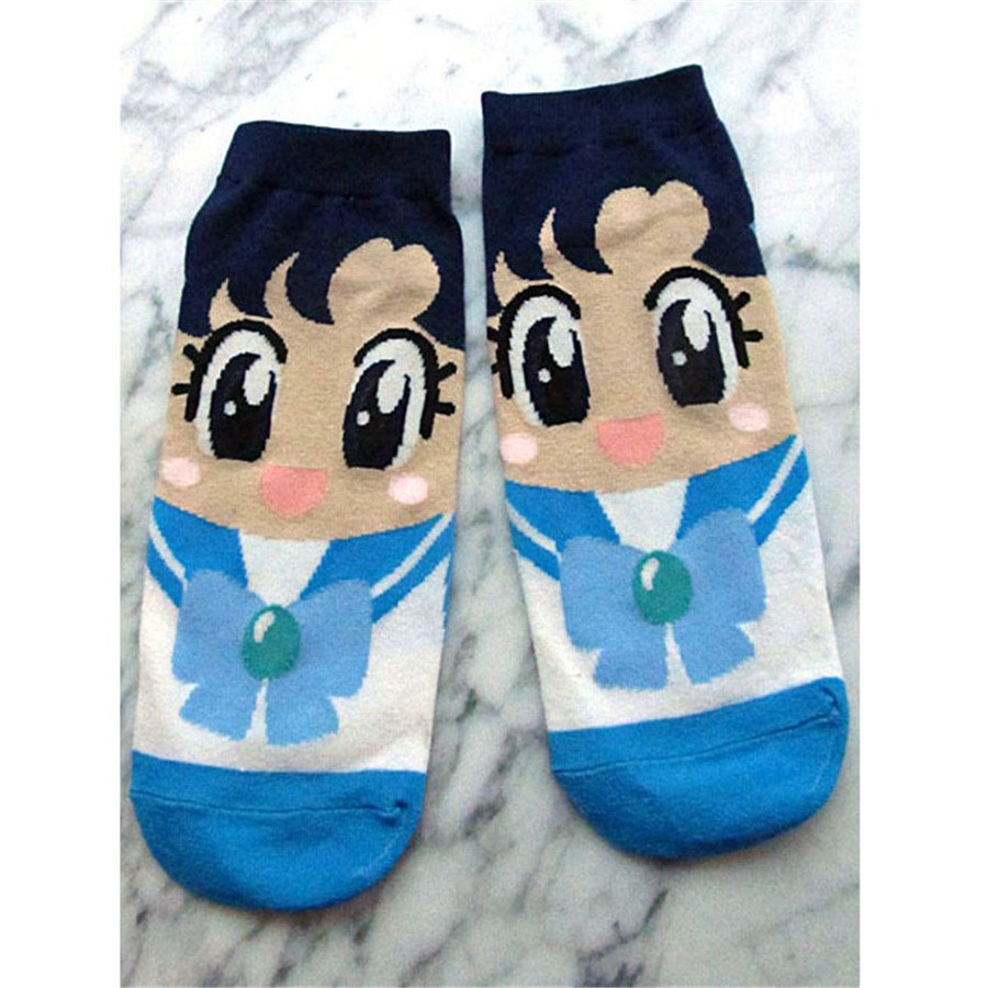 Sailor Mercury socks (UK womens 3-7)