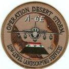 OPERATION DESERT STORM A-6E MILITARY AIRCRAFT PATCH
