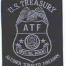ATF U.S. Treasury Special Agent Police Patch