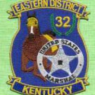 United States Marshal Eastern District Kentucky Police Patch
