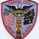 Juneau Alaska Police Patch Capital City!