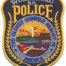 Wolfeboro New Hampshire Police Patch