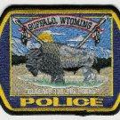 Buffalo Wyoming Police Patch