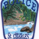 St. Charles Minnesota Police Patch