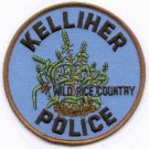 Kelliher Minnesota Police Patch