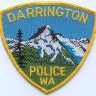 Darrington Washington Police Patch