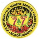 Angeles National Forest USFS Fire Crew Patch