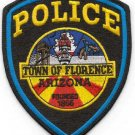 Florence Arizona Police Patch