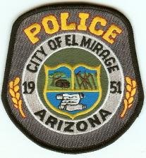 El Mirage Arizona Police Patch