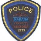 Marana Arizona Police Patch