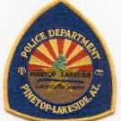 Pinetop-Lakeside Arizona Police Patch