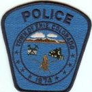 Erie Colorado Police Patch