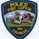 Fort Lupton Colorado Police Patch
