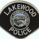 Lakewood Colorado Police Patch