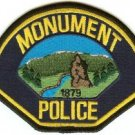 Monument Colorado Police Patch