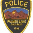 Palmer Lake Colorado Police Patch