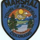 Bayfield Marshal Colorado Police Patch