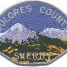 Dolores County Sheriff Colorado Police Patch