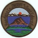 Huerfano County Sheriff Colorado Police Patch