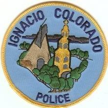 Ignacio Colorado Police Patch