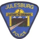 Julesburg Colorado Police Patch