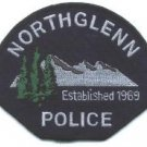 Northglenn Colorado Police Patch