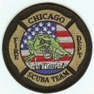 Chicago Illinois Fire Dive Team Patch