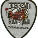 Tallahasse-Big Bend Florida Police Bomb Squad Patch