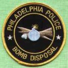 Philadelphia Pennsylvania Police Bomb Squad Patch