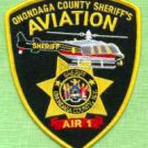 Onondaga County Sheriff New York Helicopter Air Unit Police Patch