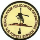 U.S. Forest Service Region 4 Oregon Helicopter Fire Patch