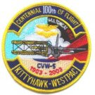 CV-63 USS KITTY HAWK CVN-5 SQUADRON CENTENNIAL FLIGHT PATCH