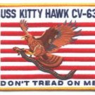 CH-63 USS KITTY HAWK NAVY AIRCRAFT CARRIER PATCH