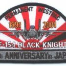 VF-154 BLACK KNIGHTS SQUADRON MILITARY AIRCRAFT PATCH