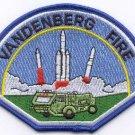 Vandenberg Air Force Base California Crash Fire Rescue Patch