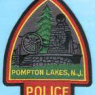 Pompton Lakes New Jersey Police Patch