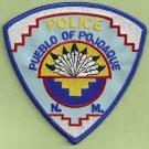 Pueblo of Pojoque New Mexico Tribal Police Patch