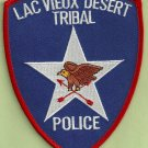 Lac View Desert Wisconsin Tribal Police Patch