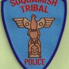 Suquamish Washington Tribal Police Patch