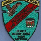 Jemez Cochiti New Mexico Tribal Ranger Police Patch