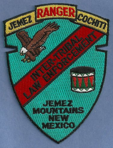 Jemez Cochiti New Mexico Tribal Ranger Police Patch