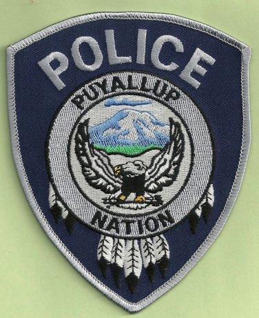 Puyalluyp Nation Washington Tribal Police Patch