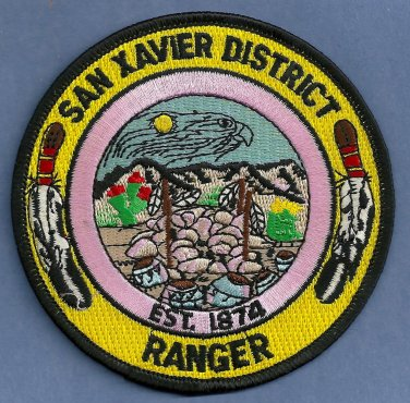 San Xavier Arizona Tribal Ranger Police Patch