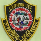 Southern Ute Utah Tribal Police Patch